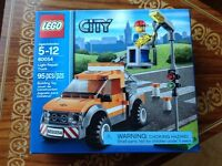 City Lego light repair truck 60054