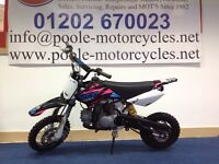 YCF START 125cc PIT BIKE, IDEAL FOR BEGINNERS ,LOW HOURS