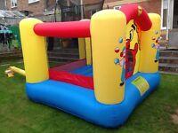 Happy hop bouncy castle £40