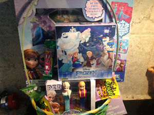 Frozen Easter basket all items new