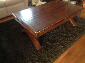 Coffee table - expandable