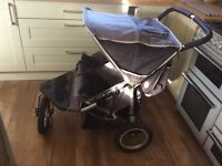 Out n About 360 Nipper Double Buggy pushchair
