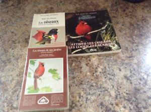 2 livres sur les oiseaux