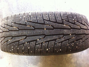 4 Nokian winter tires and rims-excellent condition Strathcona County Edmonton Area image 2