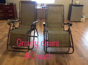 Two Gravity Chairs