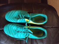 Nike tempo moulds football boots