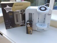 Tommee Tippee Perfect Prep. Boxed. With brand new filter and extras.