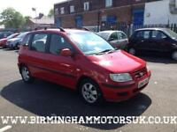 2005 (05 Reg) Hyundai Matrix 1.6 GSI 5DR MPV RED + LOW MILES
