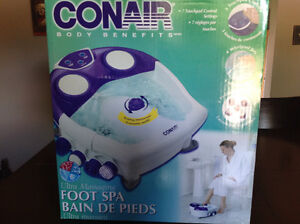 Conair Body Benefits Ultra Massaging Foot Spa