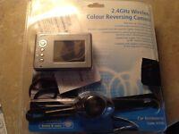 2.4 Ghz wireless colour reversing camera