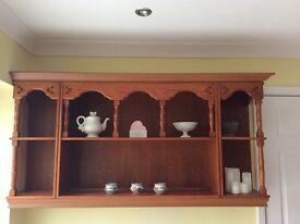 Kitchen shelf display unit