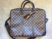 Louis Vuitton laptop bag briefcase
