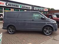 14 REG VW TRANSPORTER 2.0 T5 SWB PURE FLAT GREY 160 BHP SPORTLINE STYLED CHOICE