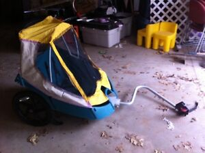 TWO CHILD BIKE TRAILER FOR SALE! :-)