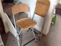 IKEA breakfast bar chairs (x2)