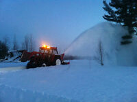 Snow removal services – Grand Barachois area