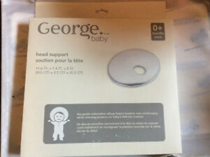 George brand contoured head support