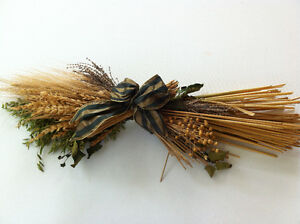 Decorative Dried Flowers Arrangement Swag Wheat Barley Lavender Peterborough Peterborough Area image 3