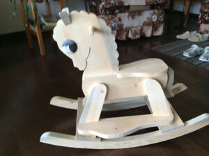 rocking horses and planters ADIRONDACK CHAIRS