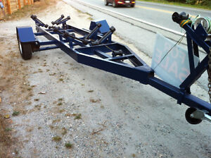 single axle trailer for up to 23' boat