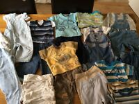 Large bundle boys clothes 6-9 months