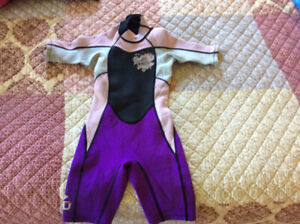 Child's wetsuit size 6