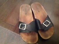 Sandales en cuir - Leather Sandals