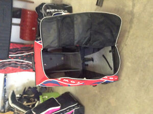 Red and Blue Grit Hockey Tower Bag
