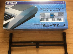 Yamaha keyboard PSR-E41 plus STAND