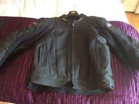 Rst motorbike leather jacket