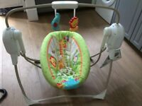 Fisher Price smart swing