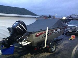 Lowe fish and ski 115hp