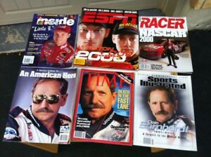 Many Old Collectible NASCAR Magazines From 1990's - 2000's $45