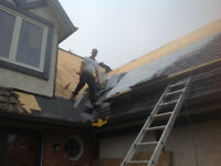 Re-roof & new const. expert roofer at special prices on now
