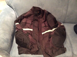 Motorcyle jacket (Mens ) and Mens motorcycle boots