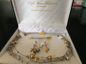 Fifth Avenue Jewellery 'a little lavish' necklace and earrings