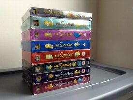 The Simpsons box set 1 to 9