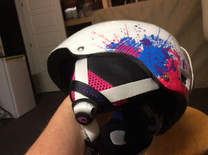 Girls Helmet with Goggles