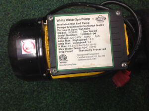 Near new 4 HP 2speed Artic Spa  / hot tub motor and pump
