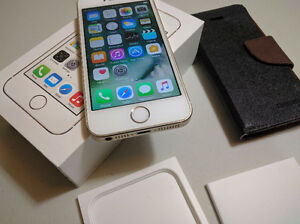 Mint Apple iPhone 5s 16GB Bell/Virgin PREMIUM GOLD
