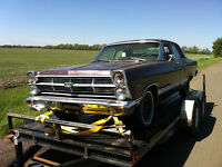 parting out 1967 ford fairlane 500