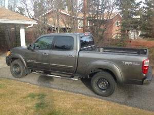 2005 Toyota Tundra crewcab, SR5 off-road. Rear wheel drive