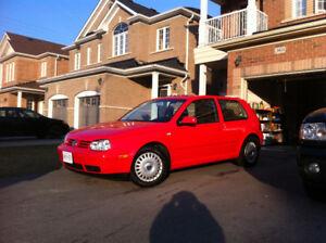 2000 Volkswagen Golf Gl Hatchback $1500 OBO