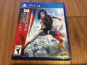 Mirrors Edge Catalyst PlayStation 4 Mint Condition