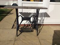Antique Sewing Machine Treadle Base. OFFERS