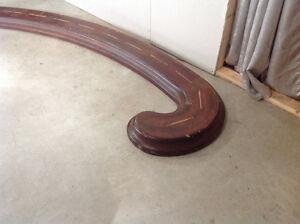 Soloid Mahogany wood railing