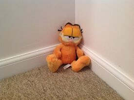 Small cuddly Garfield