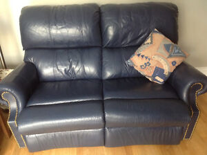 2-seater leather recliners