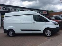 64 REG FORD TRANSIT CUSTOM 290 L2 H2 LWB HI ROOF FSH STILL HAS FORD WARRANTY