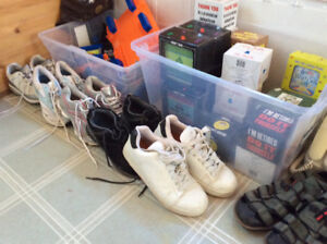 Several Really Good Sneakers and Sandals Ladies and Men's